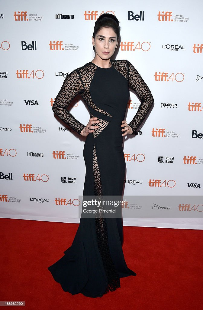 Actress Sarah Silverman attends the 'I Smile Back' premiere during the 2015 Toronto International Film Festival at Princess of Wales Theatre on September 16, 2015 in Toronto, Canada.