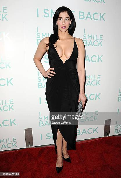 Actress Sarah Silverman attends the premiere of 'I Smile Back' at ArcLight Cinemas on October 21 2015 in Hollywood California