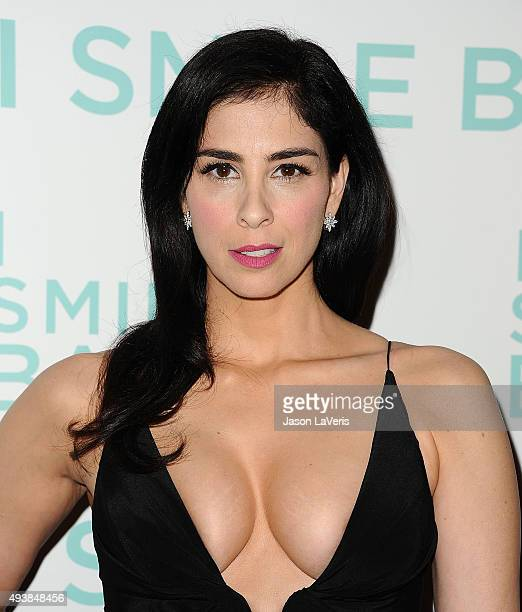 Actress Sarah Silverman attends the premiere of I Smile Back at ArcLight Cinemas on October 21 2015 in Hollywood California