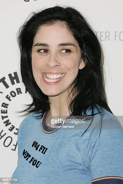 Actress Sarah Silverman attends The Sarah Silverman Program presented by The Paley Center for Media on May 2 2008 in Beverly Hills California