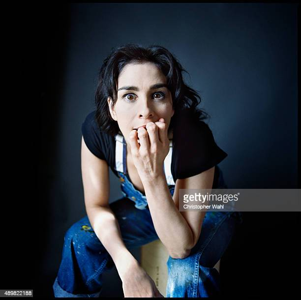 Actress Sarah Silverman is photographed for The Globe and Mail on September 15 2015 in Toronto Ontario