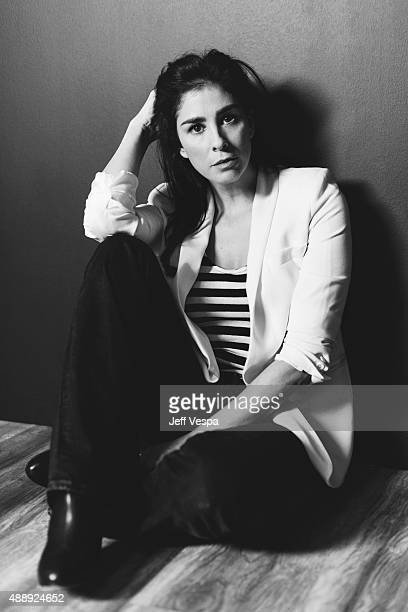 Actress Sarah Silverman of 'I Smile Back' poses for a portrait at the 2015 Toronto Film Festival at the TIFF Bell Lightbox on September 14 2015 in...