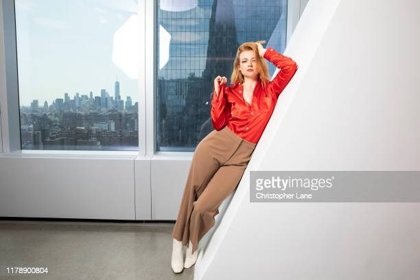 Actress Sarah Snook is photographed for the Times UK on August 1 2019 in New York City