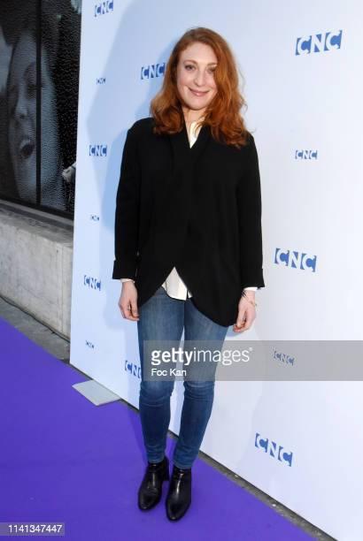 Actress Sarah Stern Attend Tribute To Agnes Varda At Centre National Du Cinema Et De L'Image Animee In Paris on April 8 2019 in Paris France