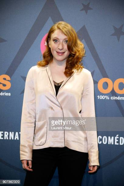 Actress Sarah Stern attends 'Les Tuches 3 Liberte Egalite FraterniTuche' Premiere during the 21st Alpe D'Huez Comedy Film Festival on January 19 2018...