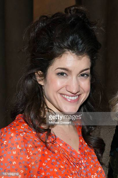 Actress Sarah Stiles attends the after party for the 25th anniversary celebrity stage reading of Steel Magnolias at Veranda on December 3 2012 in New...