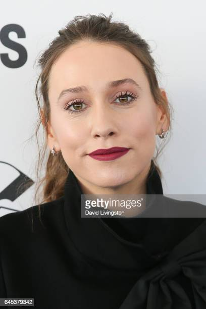 Actress Sarah Sutherland attends the 2017 Film Independent Spirit Awards on February 25 2017 in Santa Monica California