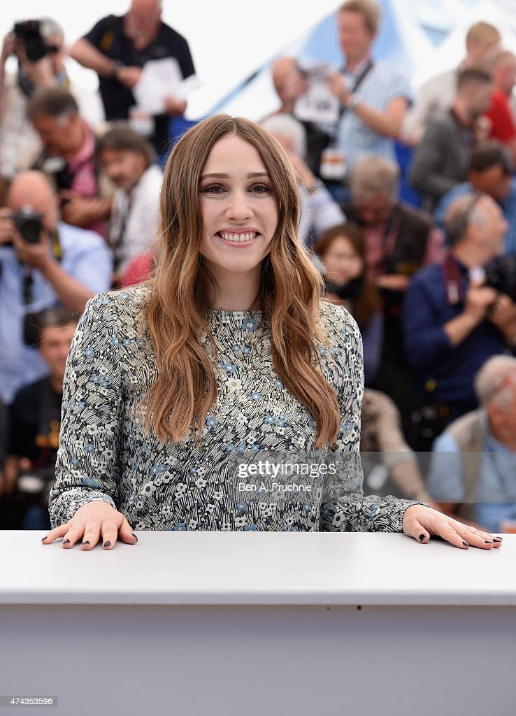 Actress Sarah Sutherland attends the 'Chronic' Photocall during the 68th annual Cannes Film Festival on May 22, 2015 in Cannes, France.