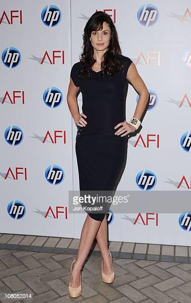 Actress Sarah Wayne Callies arrives at the 2011 AFI Awards at The Four Seasons Hotel on January 14 2011 in Beverly Hills California