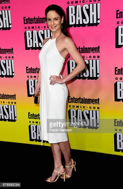 Actress Sarah Wayne Callies attends Entertainment Weekly's ComicCon Bash held at Float Hard Rock Hotel San Diego on July 23 2016 in San Diego...