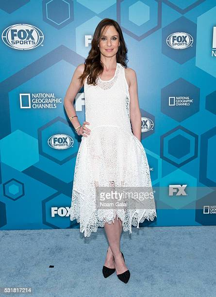 Actress Sarah Wayne Callies attends the 2016 Fox Upfront at Wollman Rink Central Park on May 16 2016 in New York City