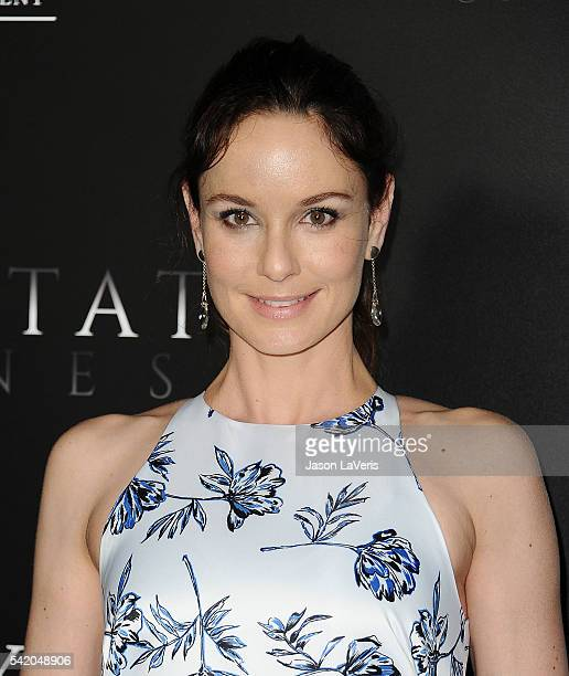 Actress Sarah Wayne Callies attends the premiere of Free State of Jones at DGA Theater on June 21 2016 in Los Angeles California