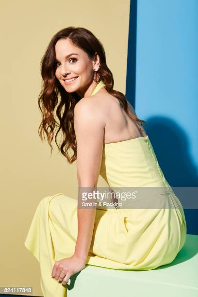 Actress Sarah Wayne Callies poses for portrait session at the 2017 Summer TCA session for National Geographic Channel's 'Long Road Home' on July 25...