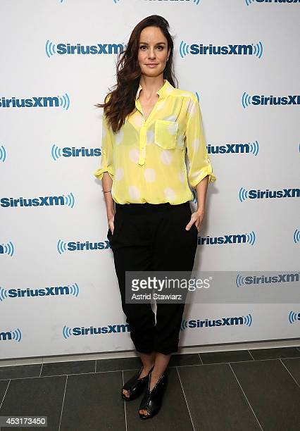 Actress Sarah Wayne Callies visits the SiriusXM Studios on August 4 2014 in New York City