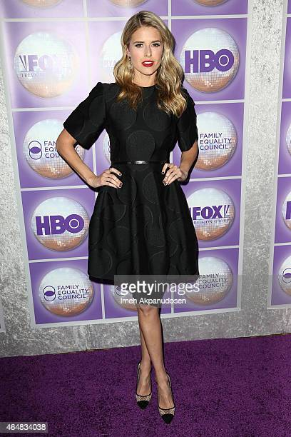 Actress Sarah Wright attends the Family Equality Council's Los Angeles Awards Dinner at The Beverly Hilton Hotel on February 28 2015 in Beverly Hills...