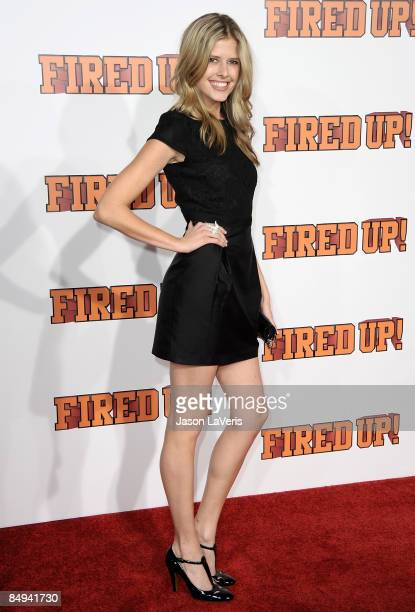 Actress Sarah Wright attends the premiere of Fired Up at Pacific Culver Theatre on February 19 2009 in Culver City California