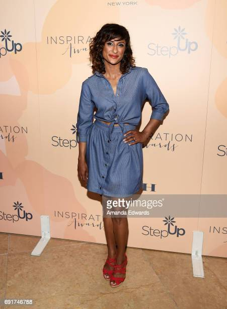 Actress Sarayu Blue arrives at the 14th Annual Inspiration Awards at The Beverly Hilton Hotel on June 2 2017 in Beverly Hills California