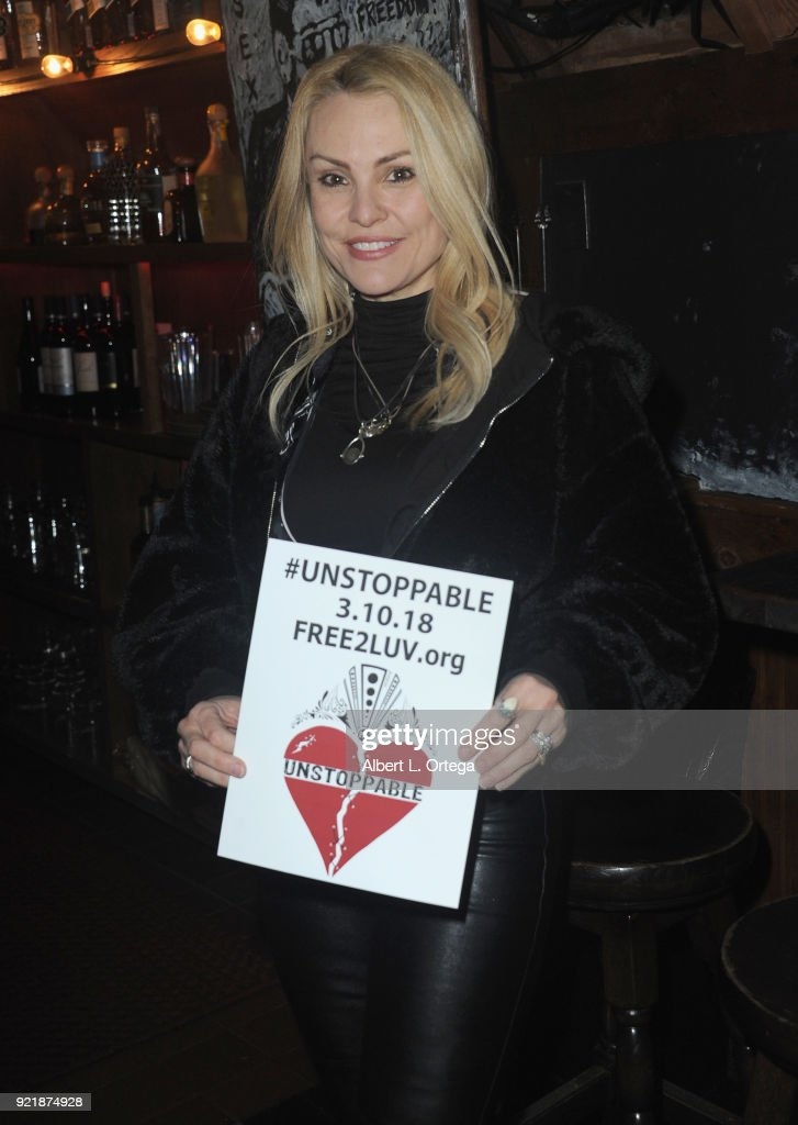 Actress Sarina Taylor attends the Indie Musicians Concert for Free2Luv.org #UNSTOPPABLE 3.10.2018 Movement, working to raise self-esteem for under-served girls, presented by Monarch PR and TMC held at State Social House on February 20, 2018 in West Hollywood, California.