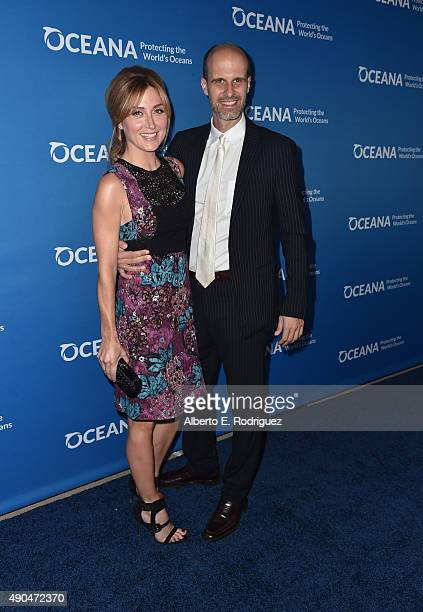 Actress Sasha Alexander and director Edoardo Ponti attend the 'Concert For Our Oceans' hosted by Seth MacFarlane benefitting Oceana at The Wallis...