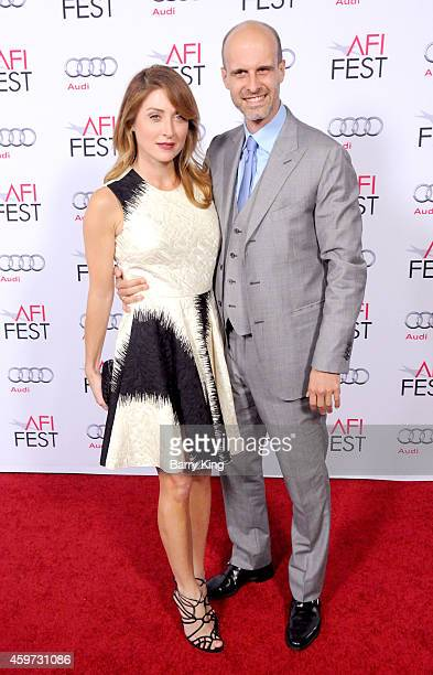Actress Sasha Alexander and director/actor Edoardo Ponti arrive at AFI FEST 2014 Presented By Audi A Special Tribute To Sophia Loren at Dolby Theatre...
