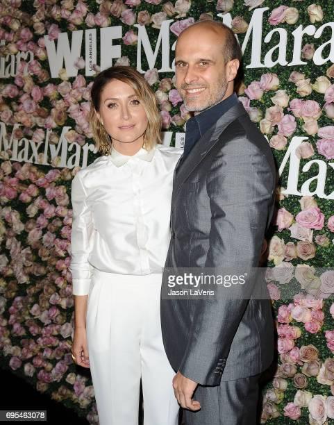 Actress Sasha Alexander and husband Edoardo Ponti attend Max Mara and Vanity Fair's celebration of Women In Film's Face of the Future Award recipient...