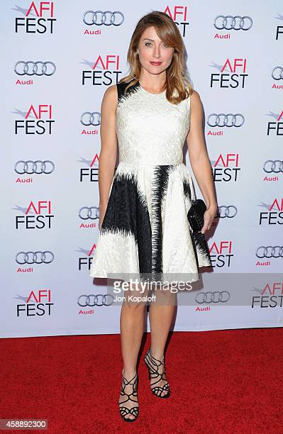 Actress Sasha Alexander arrives at AFI FEST 2014 Presented By Audi A Special Tribute To Sophia Loren at Dolby Theatre on November 12 2014 in...
