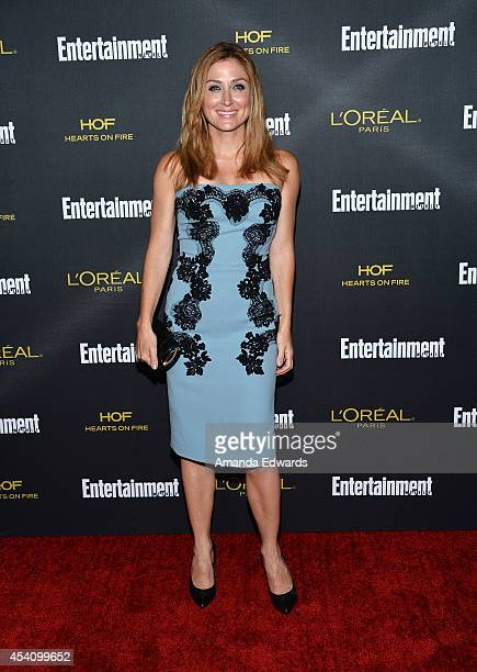 Actress Sasha Alexander arrives at the 2014 Entertainment Weekly PreEmmy Party at Fig Olive Melrose Place on August 23 2014 in West Hollywood...