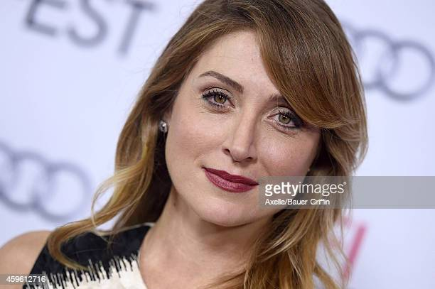 Actress Sasha Alexander arrives at the AFI FEST 2014 Presented By Audi A Special Tribute To Sophia Loren at Dolby Theatre on November 12 2014 in...