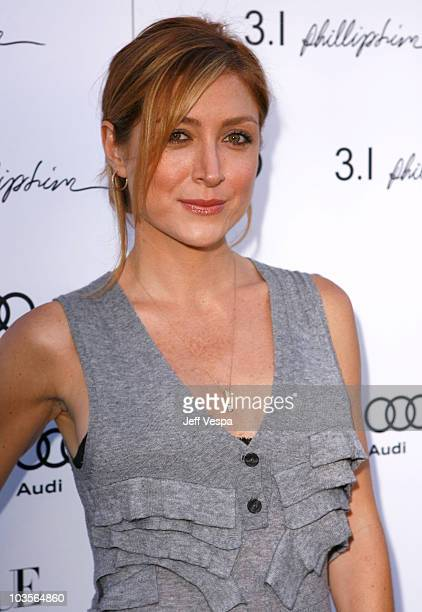Actress Sasha Alexander arrives at Vogue's 1 year anniversary party for 3.1 Phillip Lim's LA store held at 3.1 Phillip Lim on July 15, 2009 in West...