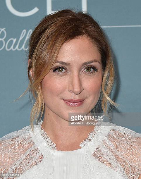 Actress Sasha Alexander arrives to the 2014 UNICEF Ball Presented by Baccarat at the Regent Beverly Wilshire Hotel on January 14 2014 in Beverly...