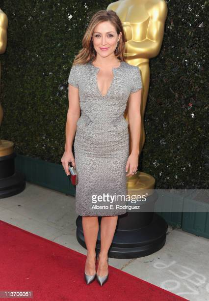 Actress Sasha Alexander arrives to The Academy of Motion Picture Arts and Sciences' tribute to Sophia Loren on May 4 2011 in Beverly Hills California
