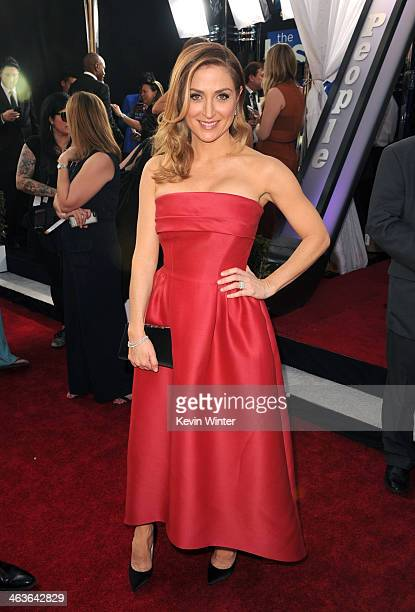 Actress Sasha Alexander attends 20th Annual Screen Actors Guild Awards at The Shrine Auditorium on January 18 2014 in Los Angeles California
