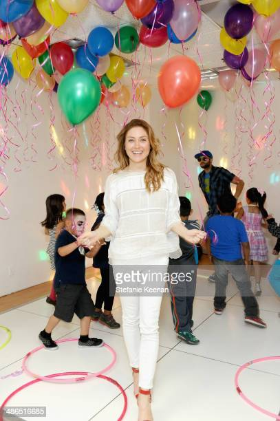 Actress Sasha Alexander attends Baby2Baby Mother's Day Party presented by Tiny Prints at Baby2Baby Headquarters on April 24 2014 in Los Angeles...
