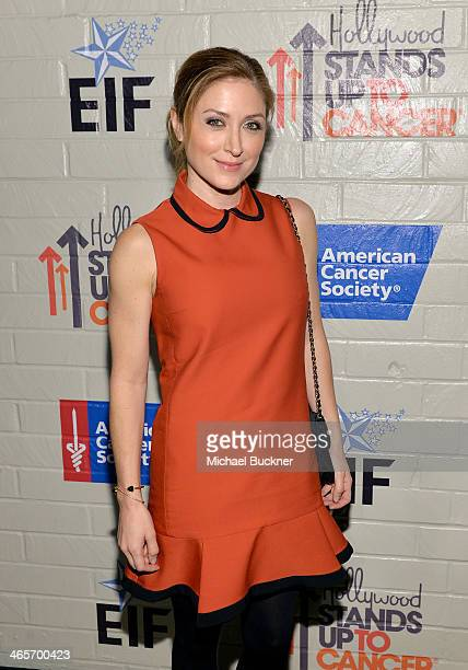Actress Sasha Alexander attends Hollywood Stands Up To Cancer Event with contributors American Cancer Society and Bristol Myers Squibb hosted by Jim...