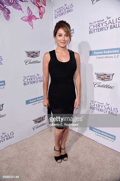 Actress Sasha Alexander attends the 15th Annual Chrysalis Butterfly Ball at a Private Residence on June 11 2016 in Brentwood California