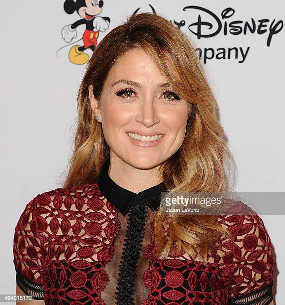 Actress Sasha Alexander attends the 2015 GLSEN Respect Awards at the Beverly Wilshire Four Seasons Hotel on October 23 2015 in Beverly Hills...
