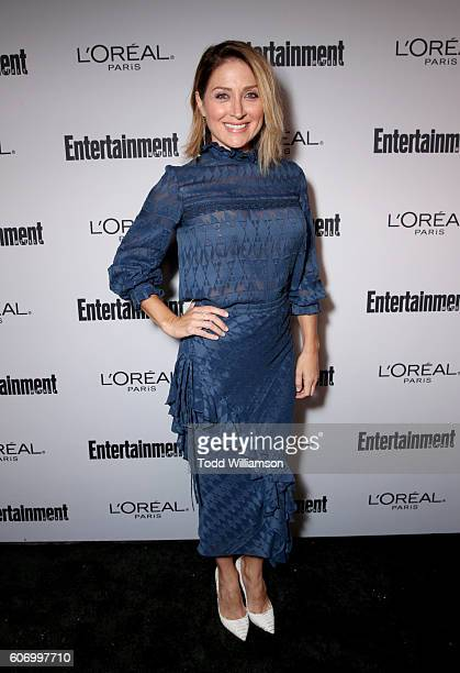 Actress Sasha Alexander attends the 2016 Entertainment Weekly PreEmmy party at Nightingale Plaza on September 16 2016 in Los Angeles California