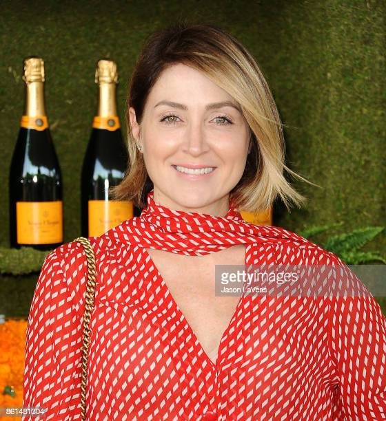 Actress Sasha Alexander attends the 8th annual Veuve Clicquot Polo Classic at Will Rogers State Historic Park on October 14 2017 in Pacific Palisades...