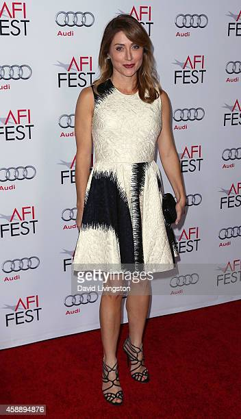 Actress Sasha Alexander attends the AFI FEST 2014 presented by Audi's special tribute to Sophia Loren at the Dolby Theatre on November 12 2014 in...