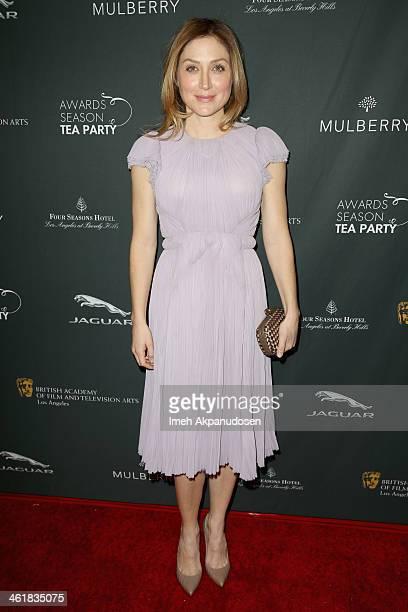 Actress Sasha Alexander attends the BAFTA LA 2014 Awards Season Tea Party at the Four Seasons Hotel Los Angeles at Beverly Hills on January 11 2014...