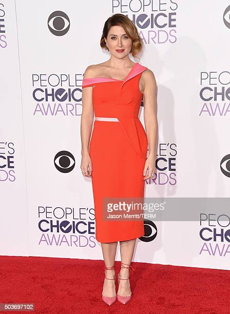 Actress Sasha Alexander attends the People's Choice Awards 2016 at Microsoft Theater on January 6 2016 in Los Angeles California