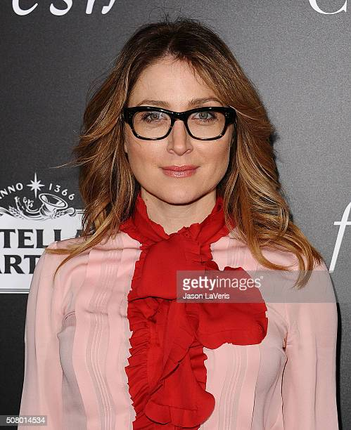 Actress Sasha Alexander attends the premiere of The Choice at ArcLight Cinemas on February 1 2016 in Hollywood California