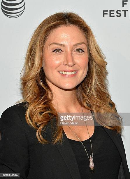 Actress Sasha Alexander attends the Shorts Program Soul Survivors during the 2014 Tribeca Film Festival at AMC Loews Village 7 on April 21 2014 in...