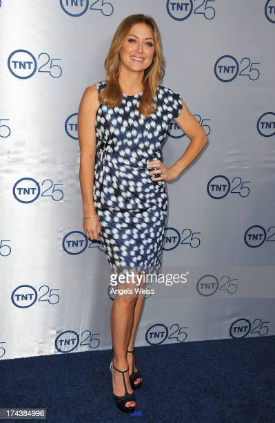 Actress Sasha Alexander attends TNT's 25th Anniversary Partyat The Beverly Hilton Hotel on July 24 2013 in Beverly Hills California