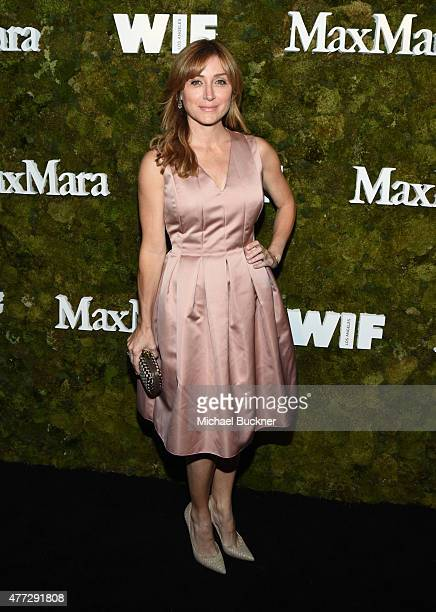Actress Sasha Alexander wearing Max Mara attends The Max Mara 2015 Women In Film Face Of The Future event at Chateau Marmont on June 15 2015 in West...