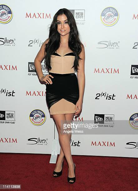 Actress Sasha Grey arrives at Maxim's Hot 100 Party at Eden on May 11 2011 in Hollywood California