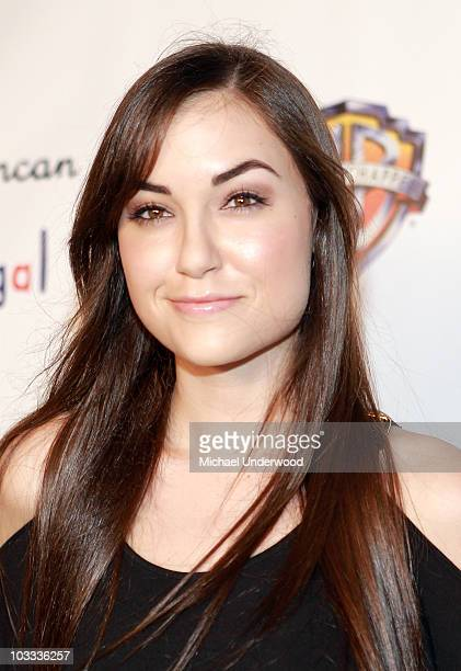 Actress Sasha Grey arrives at the Fred Segal Santa Monica Launch Party for Lyric Culture's 'Nude' Collection on August 10 2010 in Santa Monica...