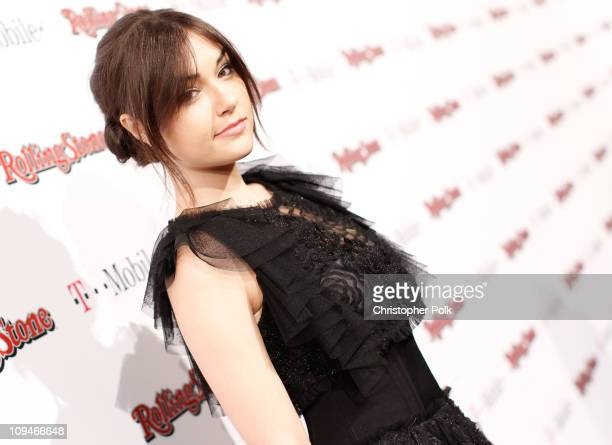Actress Sasha Grey arrives at the Peter Travers and Editors of Rolling Stone Host Awards Weekend Bash at Drai's Hollywood on February 26 2011 in...