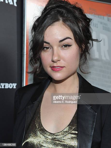 Actress Sasha Grey arrives to the premiere of Relativity Media's Haywire at DGA Theater on January 5 2012 in Los Angeles California