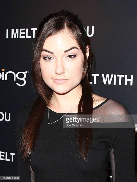 Actress Sasha Grey attends the Bing Presents the I Melt With You Official Cast Dinner and AfterParty on January 26 2011 in Park City Utah
